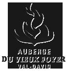 Logo. Auberge du Vieux Foyer. Val-David.