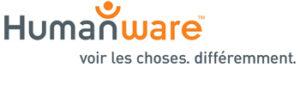 Logo. Humanware. Voir les choses. Différemment.