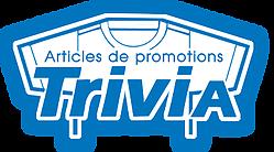 Logo. Trivia. Articles de promotions.